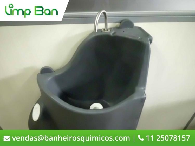 Pia de Luxo para Banheiro Químico