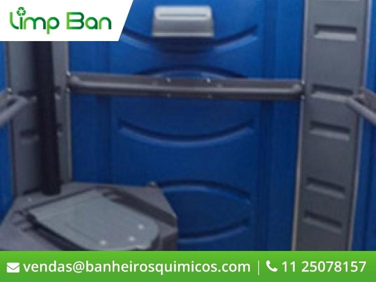 Banheiro Químico PNE Plus – 360º - Aprovado pela Norma ABNT – NBR 9050