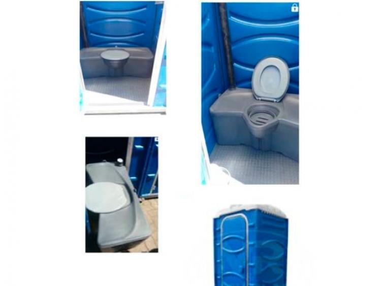 Banheiro com tanque removível